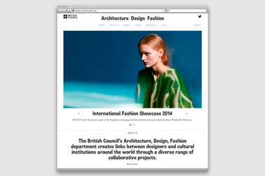 British Council Architecture Design Fashion